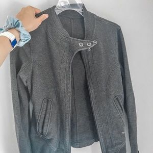 grey lulu lemon jacket